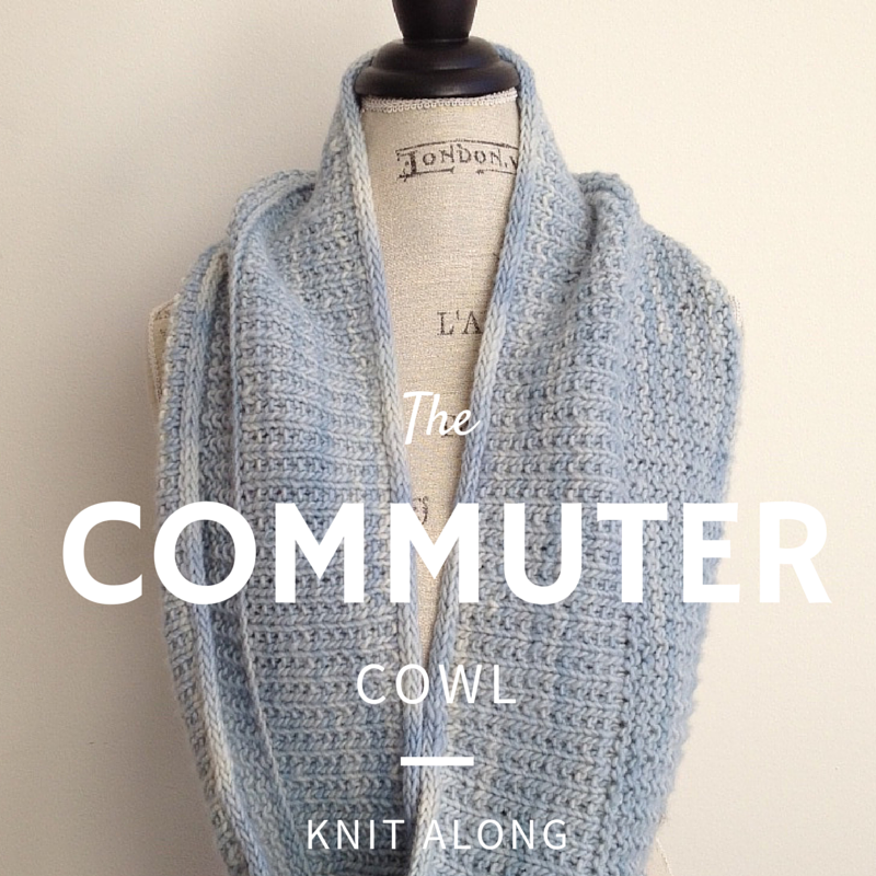 Commuter Cowl Knit Along