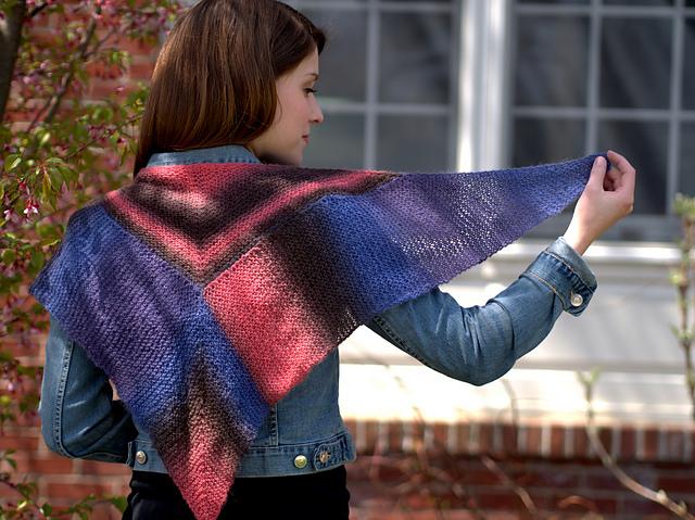 Free Knitting Pattern: Revel Modular Shawlette