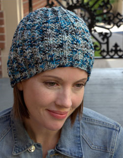 Mistake Rib Hat Free Knitting Pattern