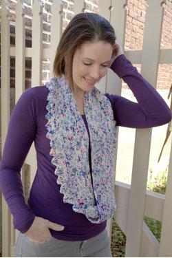 Moss Stitch Cowl Free Knitting Pattern