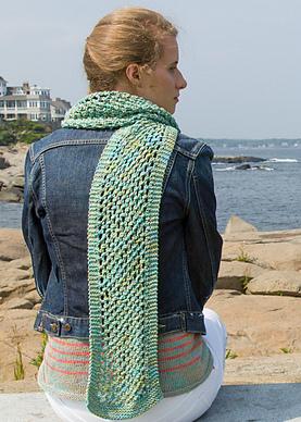 Classic Elite Mesh Scarf Free Knitting Pattern