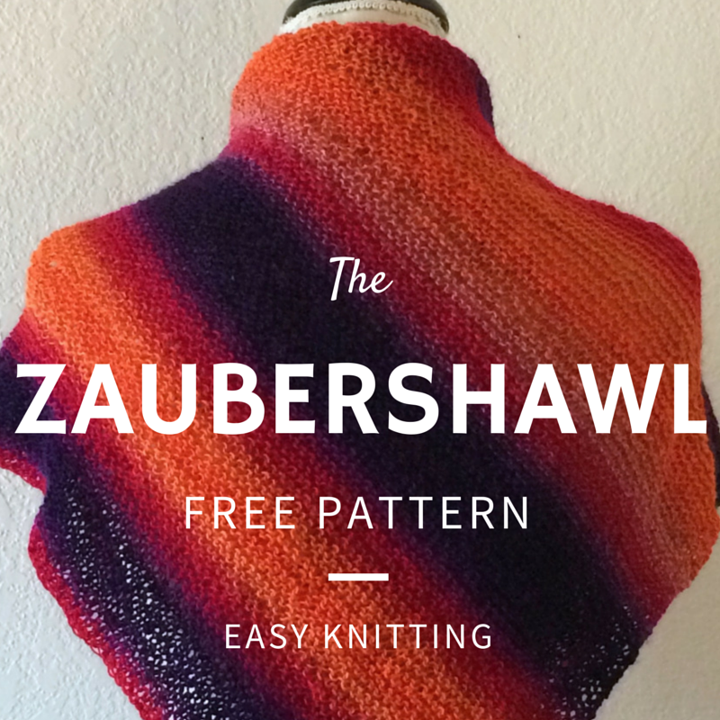 Zaubershawl Free Knitting Pattern