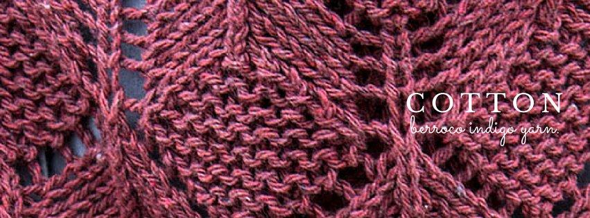 Recycled Berroco Indigo Yarn