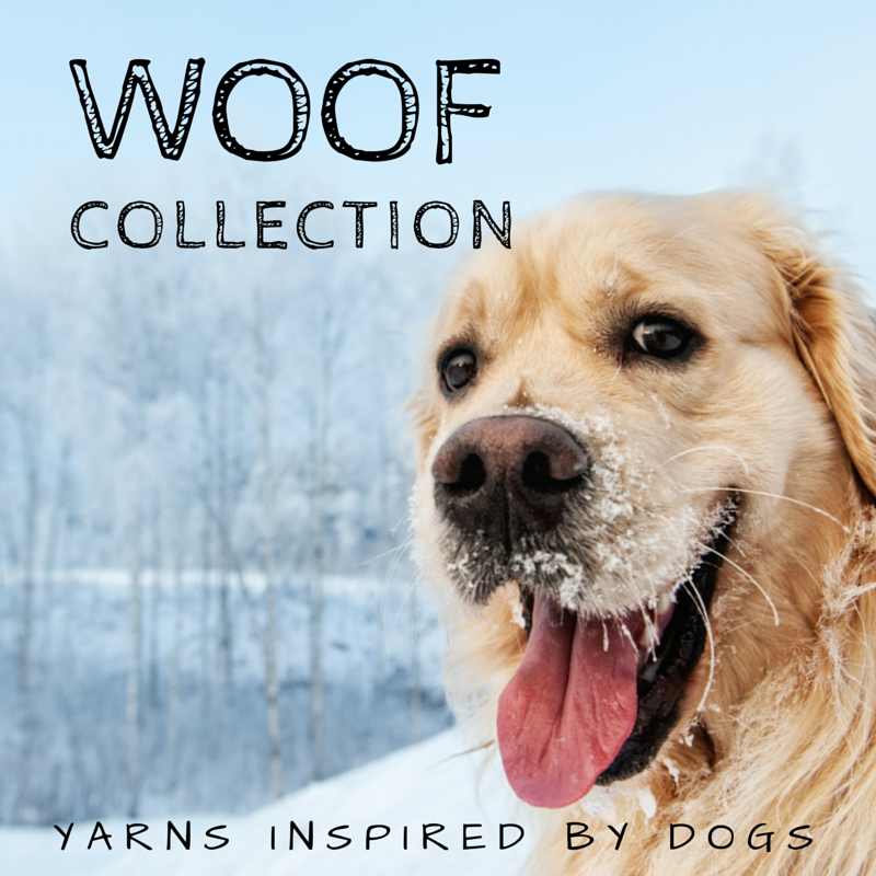 Woof Collection - Hand dyed yarns inspired by dogs!