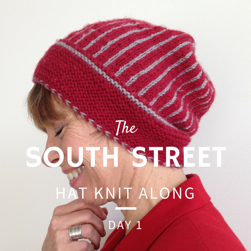 South Street Hat Knit Along - Day 1