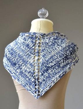 Denims Scarf Free Knitting Pattern