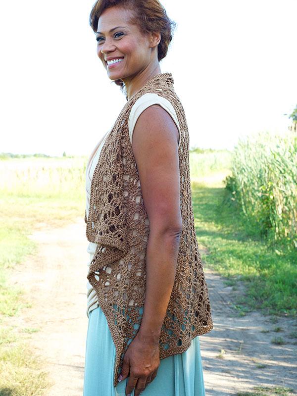 Berne Vest Free Crochet Pattern