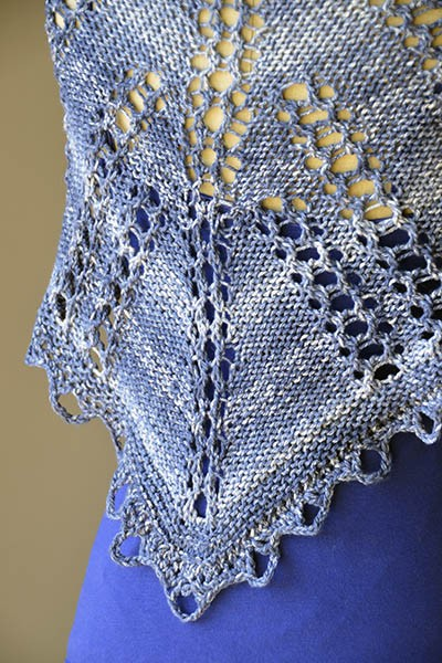 High Tide Shawlette Free Knitting Pattern