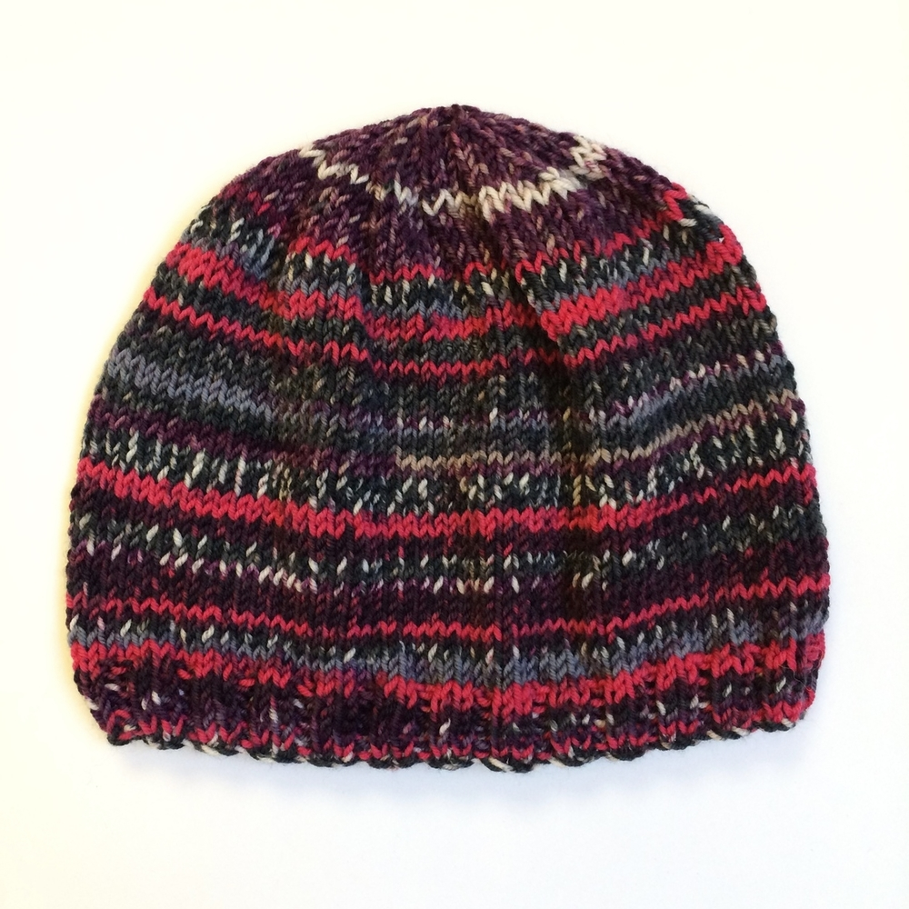 Free Knitting Pattern - Easy Ambiente Hat Pattern