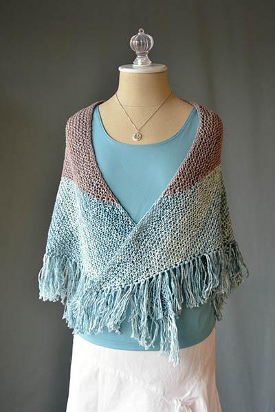 Adorn Seabird Shawl Free Knitting Pattern Blog Nobleknits