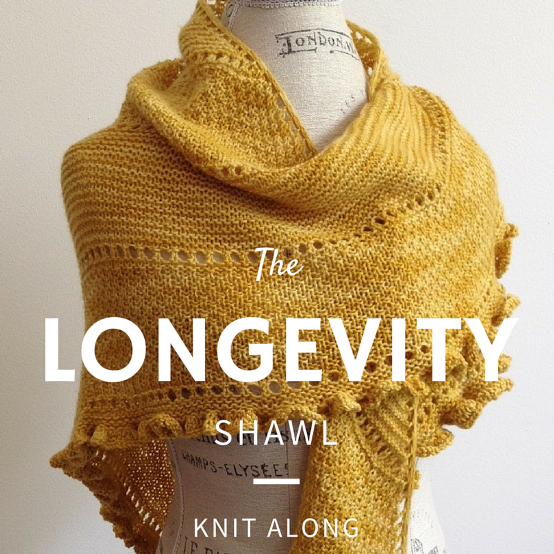 Longevity Shawl Knit Along