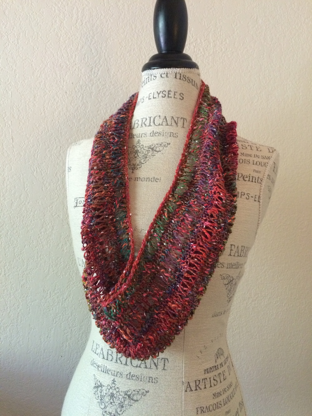 Easy Tempo Cowl Free Knitting Pattern