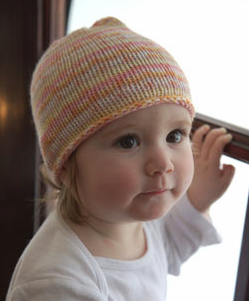 Free Baby Hat Knitting Pattern - Easy!