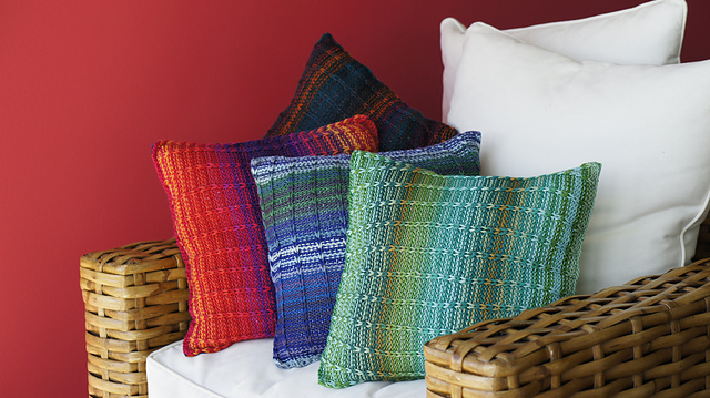 Brighten Up Pillow Free Knitting Pattern