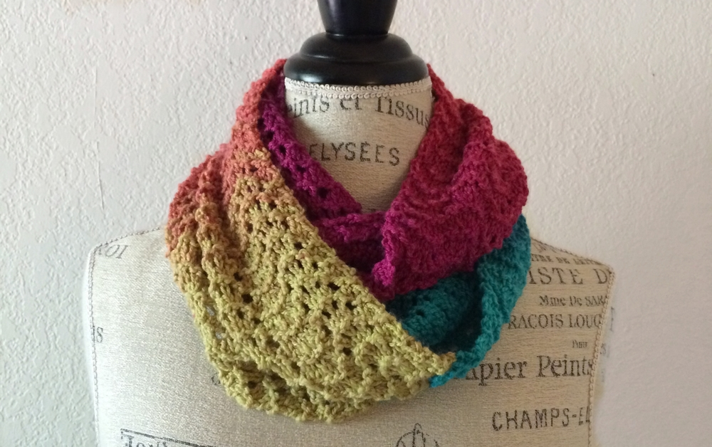 Calistoga Cowl Free Knitting Pattern