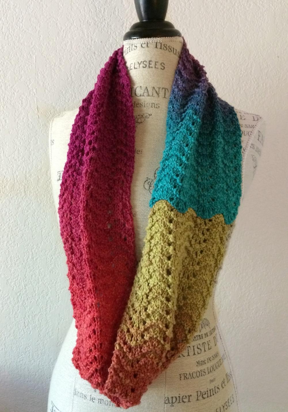 Calistoga Cowl Free Knitting Pattern | NobleKnits Knitting ...