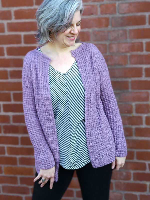Free Easy Knitting Patterns For Ladies Cardigans : Ametrine Cardigan Free Knitting Pattern   Blog.NobleKnits