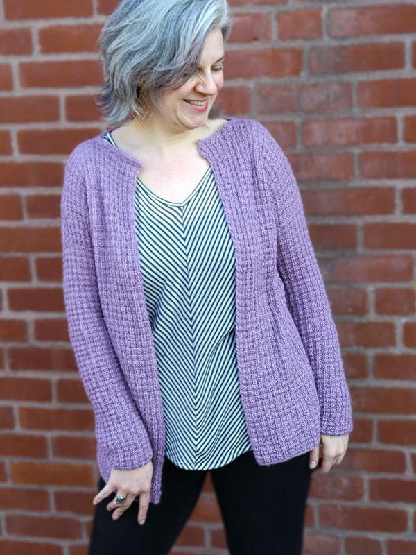 Free Knitting Patterns Ladies Cardigans : Ametrine Cardigan Free Knitting Pattern   Blog.NobleKnits