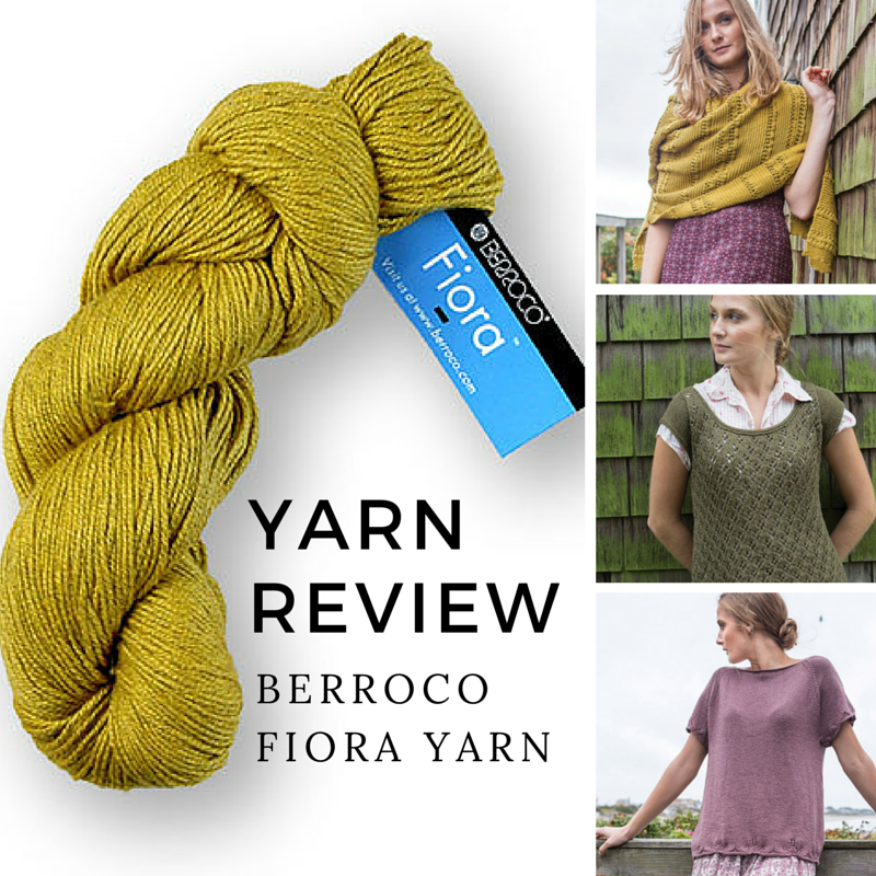 Yarn Review: Berroco Fiora Yarn + Project Ideas!