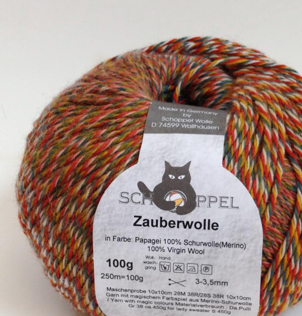 Product Review: Schoppel-Wolle Zauberwolle Self-Striping Yarn