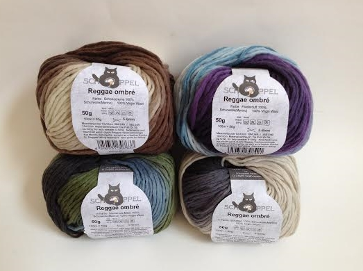 Reggae Ombre Yarn in Neutrals - subtle and refined