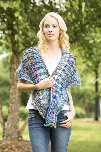Dragon Lady Shawl Free Knitting Pattern   Blog.NobleKnits