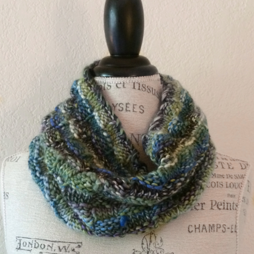 Frenzy Cowl Free Knitting Pattern Blogbleknits