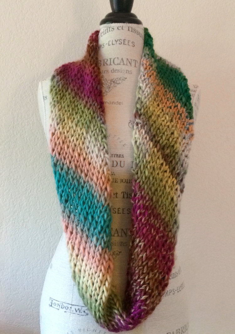 Big Time Cowl Free Knitting Pattern — Blog.NobleKnits