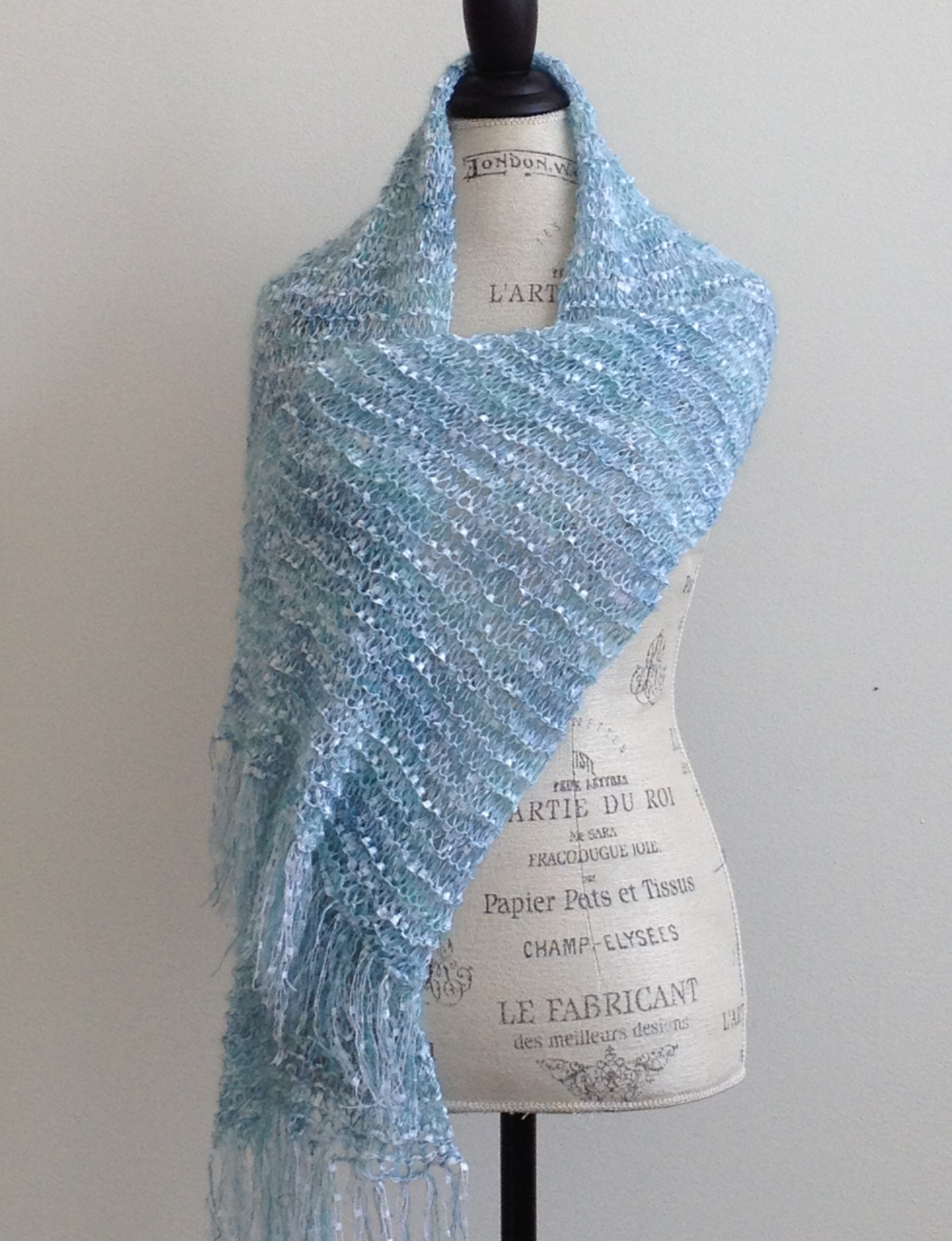 Linda's Little Luxe Scarf Free Knitting Pattern