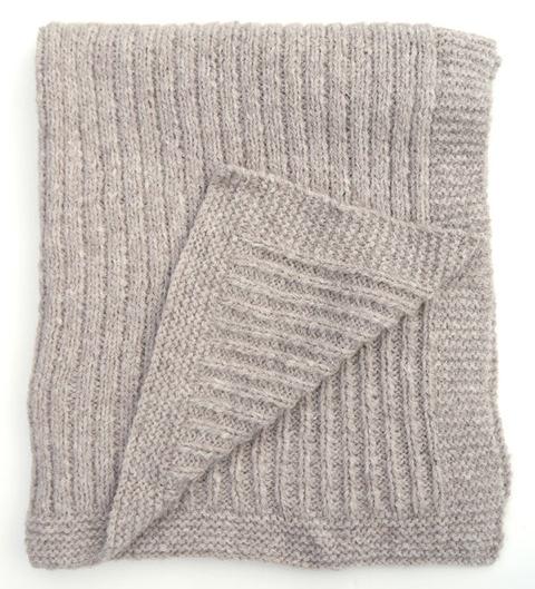 Knitting Pattern Queen Size Blanket : Geneva Blanket Free Knitting Pattern   NobleKnits Knitting Blog