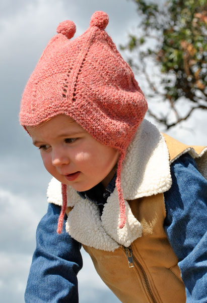 Toddlers Pompom Peruvian Hat Free Knitting Pattern Blogbleknits