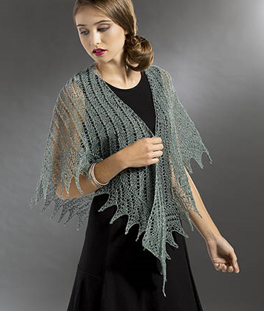 Planetary Shawl Free Knitting Pattern