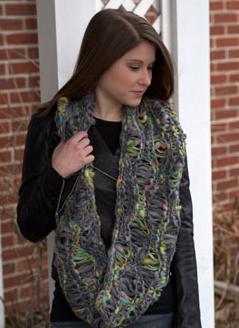 Seafoam Cowl Free Knitting Pattern
