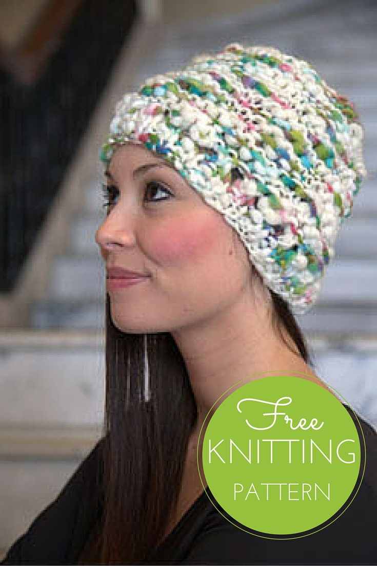 Oskar Quick Knit Hat - Free Knitting Pattern!