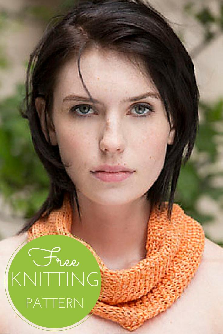 Gansevoort Cowl Free Knitting Pattern