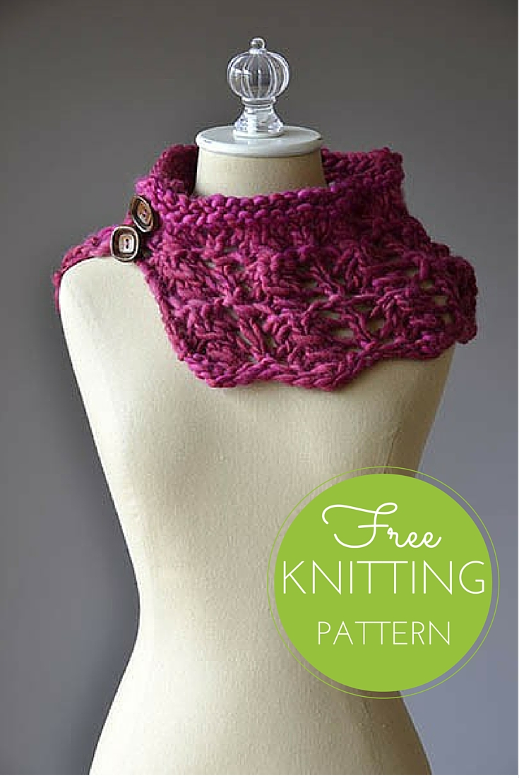 Sweetie Cowl Free Knitting Pattern