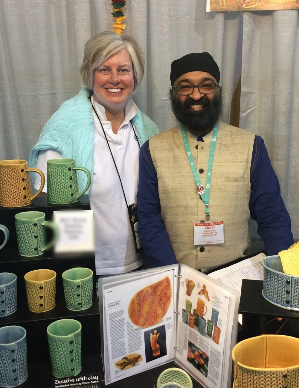 NobleKnits Nancy Queen with Charan Sachar