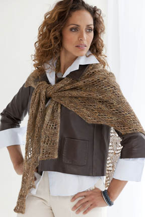 Vicenza Lace Shawl Free Knitting Pattern