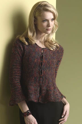 Ruffle Sleeved Cardigan Free Knitting Pattern Blogbleknits