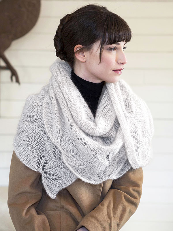 Hydrus Lace Shawl Free Knitting Pattern