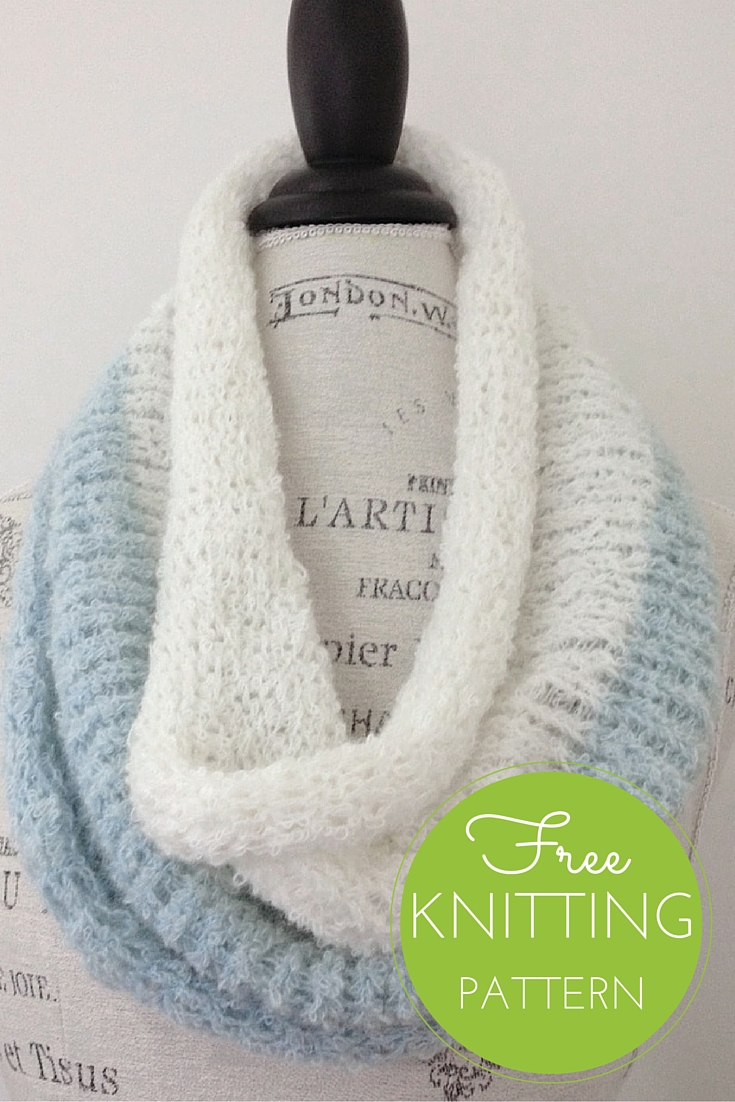 Duo Cowl Free Knitting Pattern — Blog.NobleKnits