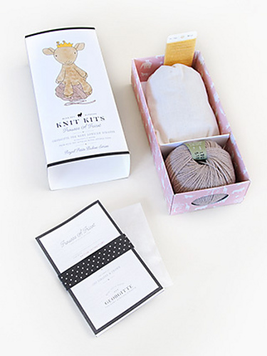 Inside the Royal Petites Baby Animals Knitting Kits