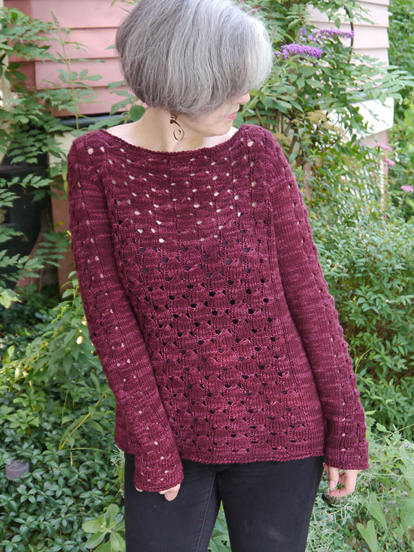 Sangria Sweater Free Knitting Pattern