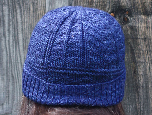 Memphre Hat Free Knitting Pattern featuring Berroco Artisan Yarn