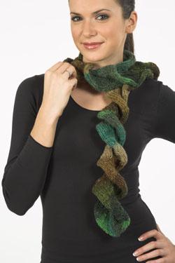 Ruffle Scarf Free Knitting Pattern