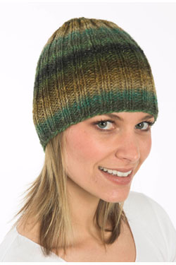 Ribbed Hat Free Knitting Pattern