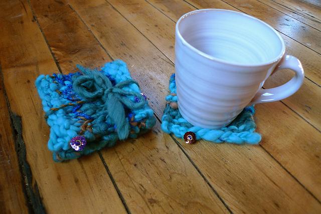 Boho Coasters Free Knitting Pattern Blogbleknits