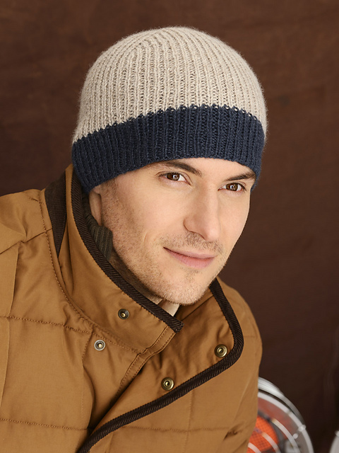 Icehouse Hat Free Knitting Pattern