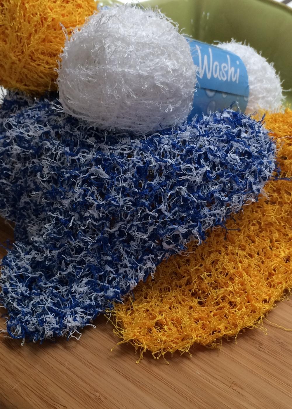 Diagonal Dishcloth Free Knitting Pattern