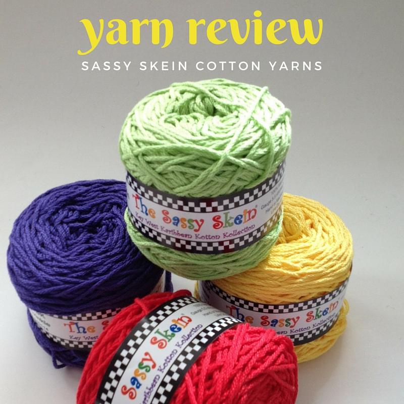 Sassy Skein Cotton Yarn Review